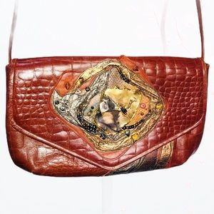 PAT SMILEY COLLECTION EMBELLISHED BAG